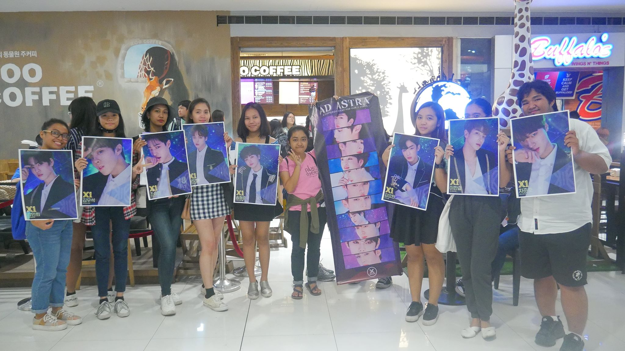 X1 Philippines Collected Stars Chingu To The World