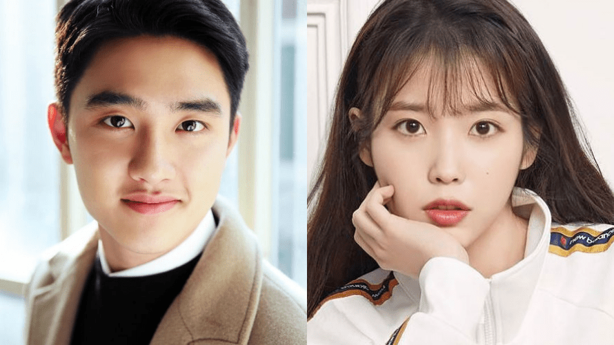 "EXO's D.O. ""That's Okay"" No.1 in Melon 's Rising Chart Because of IU -"